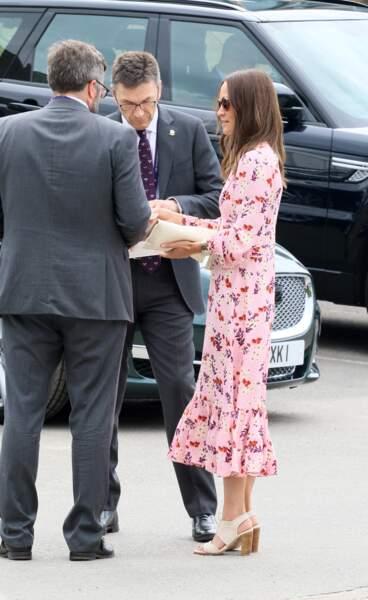 Pippa Middleton a assisté à la finale de Wimbledon ce dimanche 14 juillet à Londres