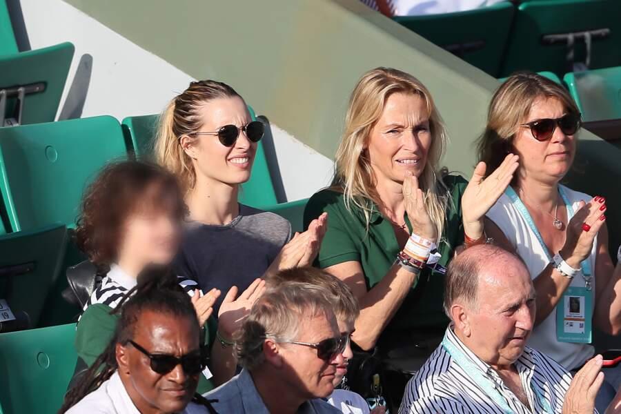 Les deux femmes ont assisté ensemble au match de Rafael Nadal