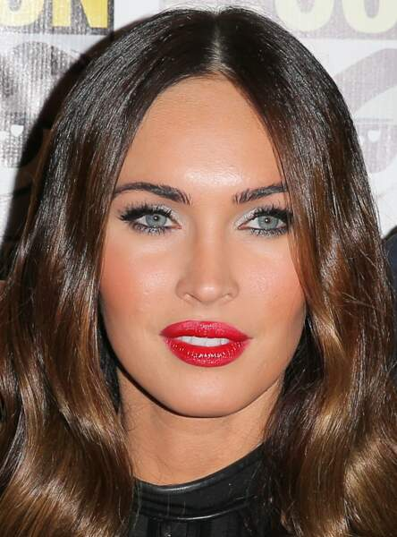 Le make up argent de Megan Fox