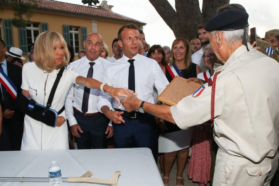 Ils ont rencontré le maire de la commune et participé aux commémorations