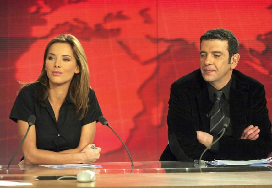 Melissa Theuriau et Thierry Gilardi