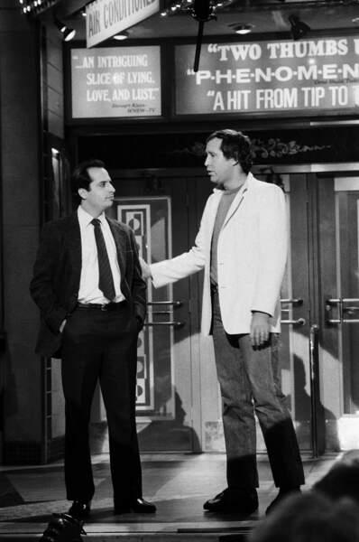 Chevy Chase y a fait ses premières armes avec John Lovitz