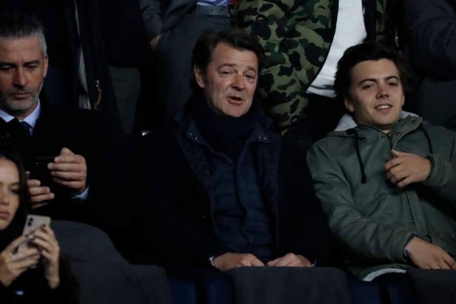 François Baroin a lui aussi assisté au match du PSG