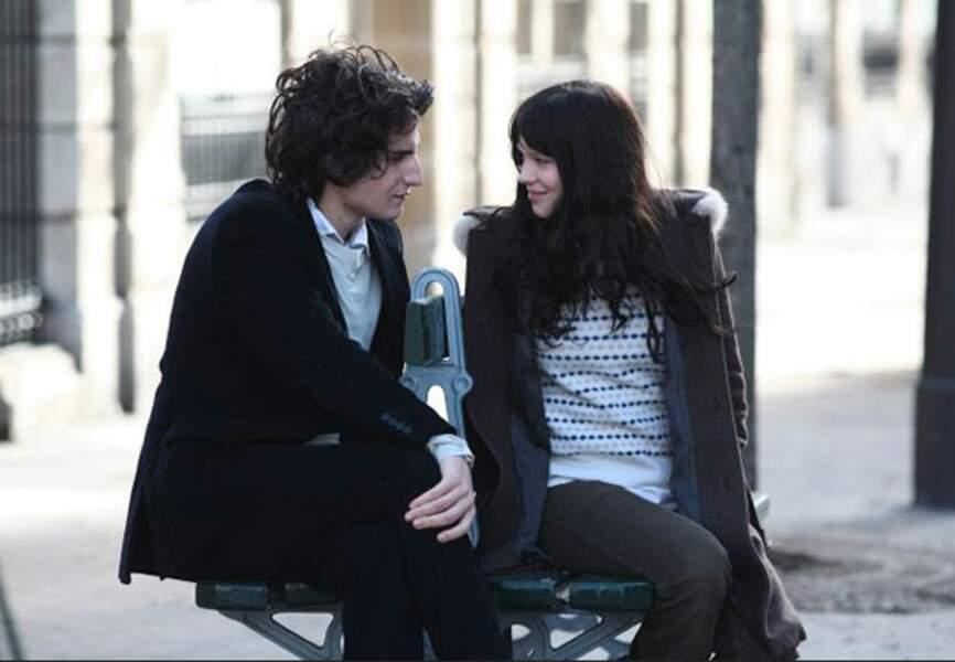 """En 2008, l'actrice joue aux côtés de Louis Garrel dans """"La Belle Personne."""""""