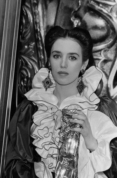 """Isabelle Adjani, récompensée en 1982 pour son rôle dans le film """"Possession"""""""