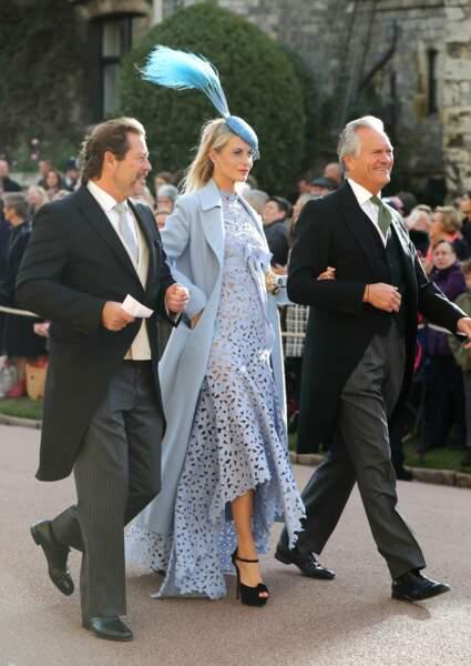 La soeur de Cara, Poppy Delevingne au mariage d'Eugénie d'York