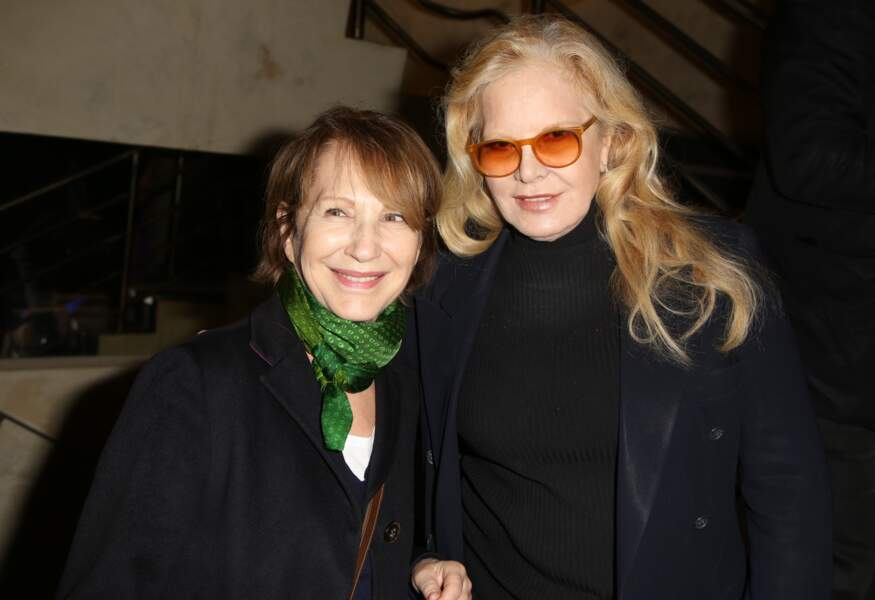 Nathalie Baye et Sylvie Vartan, mères respectivement de Laura Smet et David Hallyday