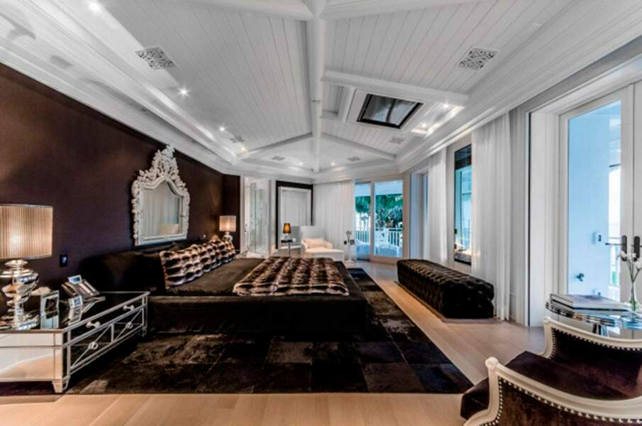 L'intérieur de la villa de Céline Dion