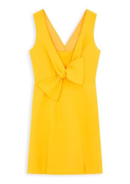 robe safran Tara Jarmon, 100 €