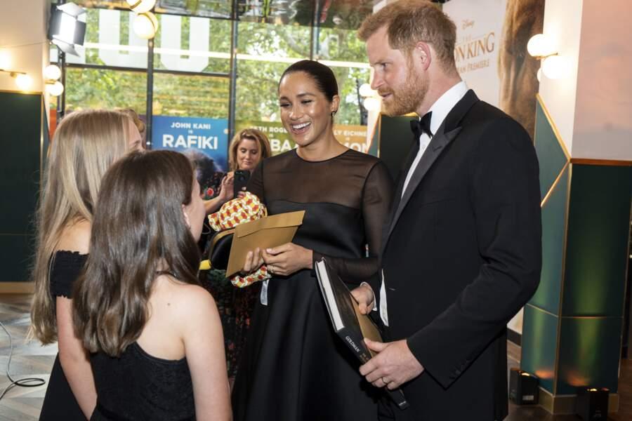 Meghan Markle et le prince Harry ont reçu un petit Simba en peluche pour Archie
