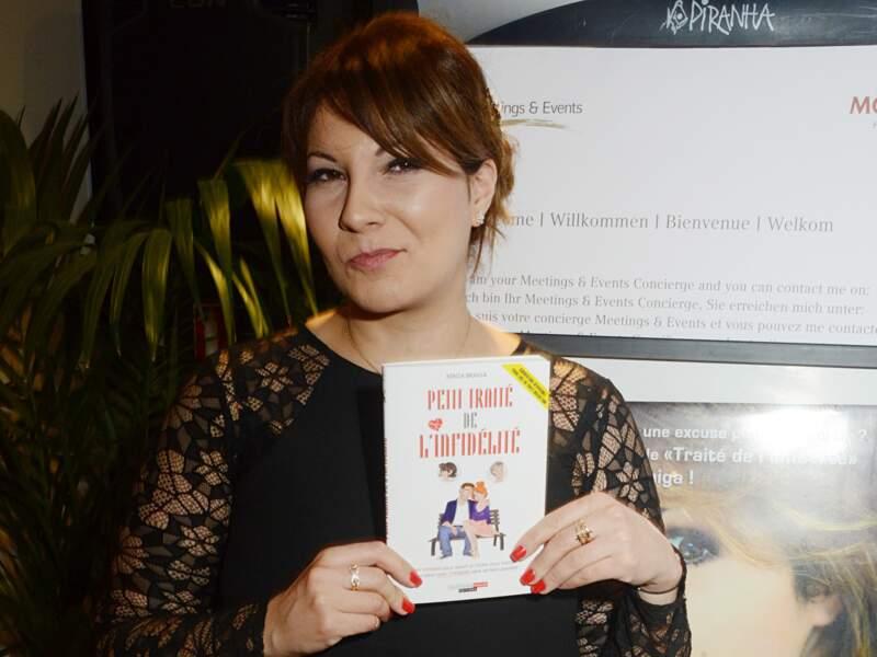 Kenza continue sa brillante carrière dans la presse et les médias, elle a aussi écrit plusieurs livres