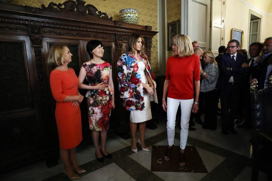 Brigitte Macron et Melania Trump ont des styles très différents