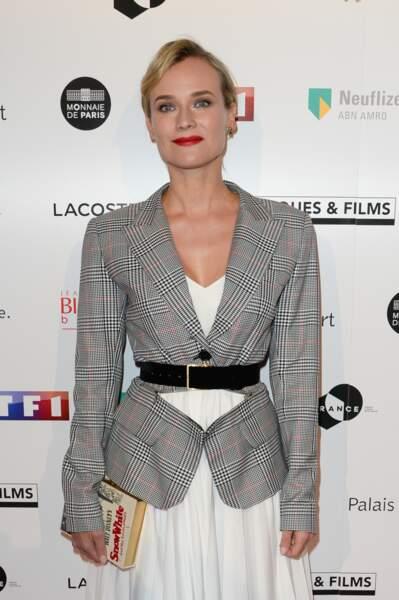 Diane Kruger (qui a reçu le Trophée d'honneur Lacoste) était de la partie ce 5 février