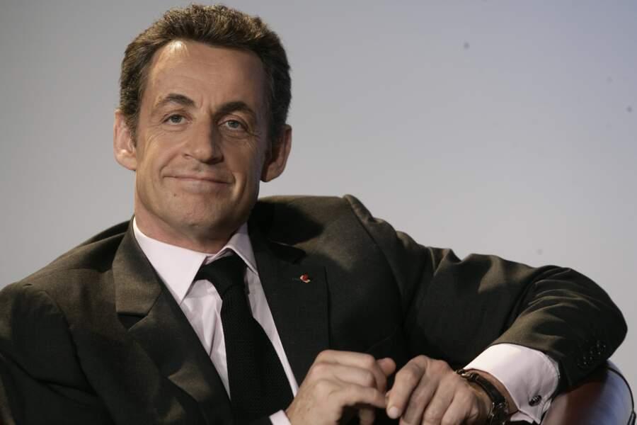 Nicolas Sarkozy, 2007...
