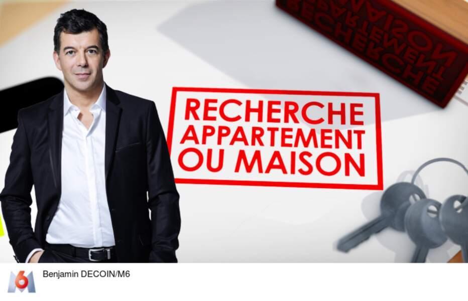 """Stéphane Plaza, animateur de """"Recherche Appartement ou Maison"""", depuis 2006"""