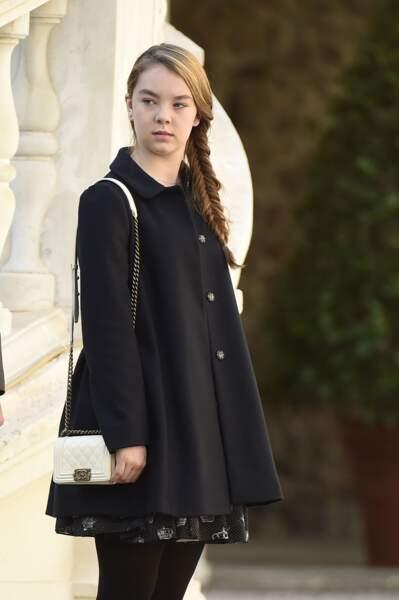 La princesse Alexandra de Hanovre à Monaco le 19 novembre 2014