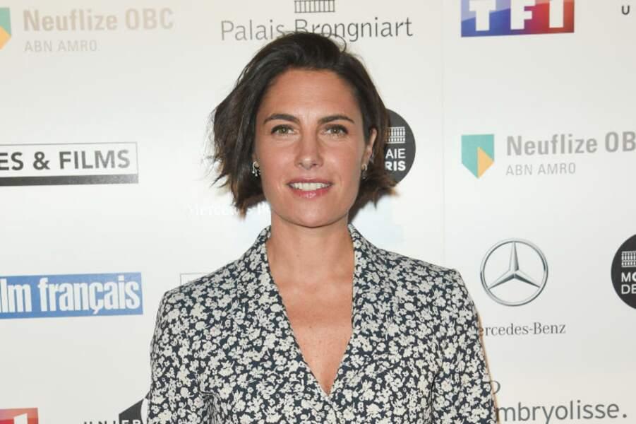 Alessandra Sublet, radieuse lors de la 26ème édition des Trophées du Film Français.