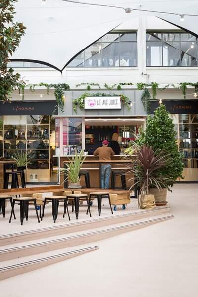 Parisian Omnivore District (POD), le food court du BHV Marais propose un choix épicurien de saveurs.