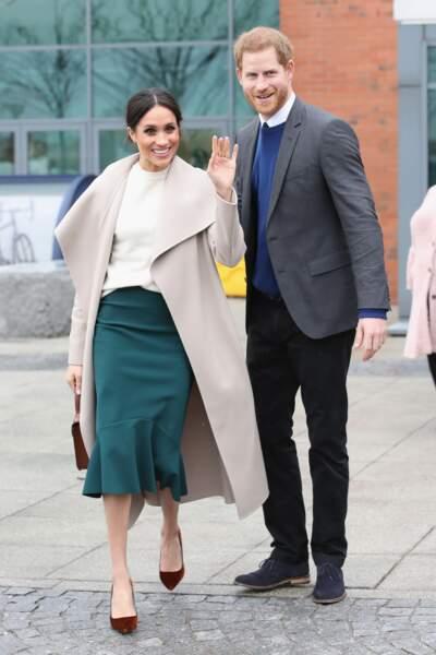 Meghan Markle et le prince Harry vont se marier le 19 mai prochain