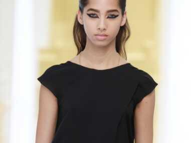 Regard graphique pour le défilé Dior