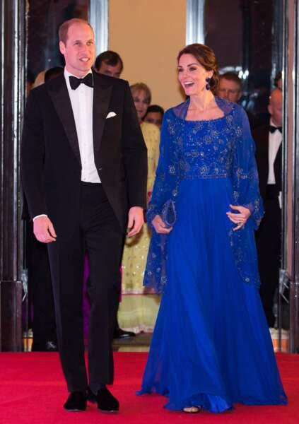 Le couple princier au Taj Mahal