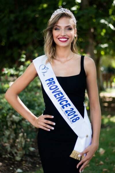 Wynona Gueraïni, 19 ans, a été sacrée Miss Provence et tentera de devenir Miss France 2019