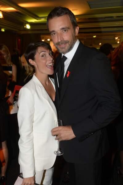 Alessandra Sublet et le producteur Clément Miserez
