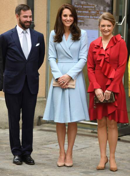 Kate Middleton, Duchesse de Cambridge au Luxembourg