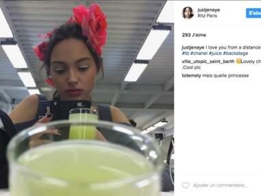 Jenaye, la fille de Yannick Noah est mannequin