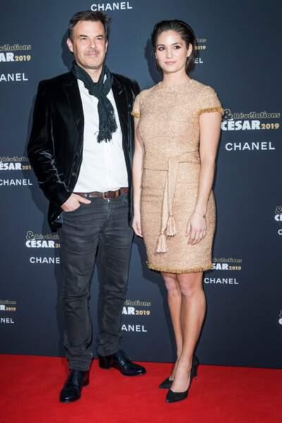 François Ozon et Ophélie Bau ont la classe à la soirée des révélations des Césars.