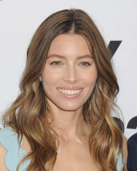 Jessica Biel a sûrement joué de son regard félin pour envoûter son mari Justin Timberlake