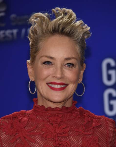 Sharon Stone, une coupe digne d'un film