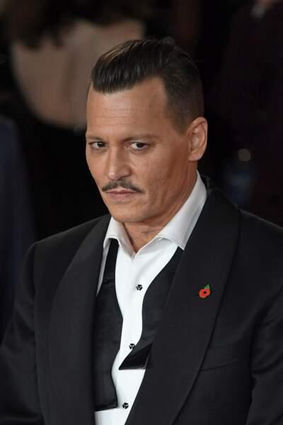 Johnny Depp est apparu plus sexy que jamais !