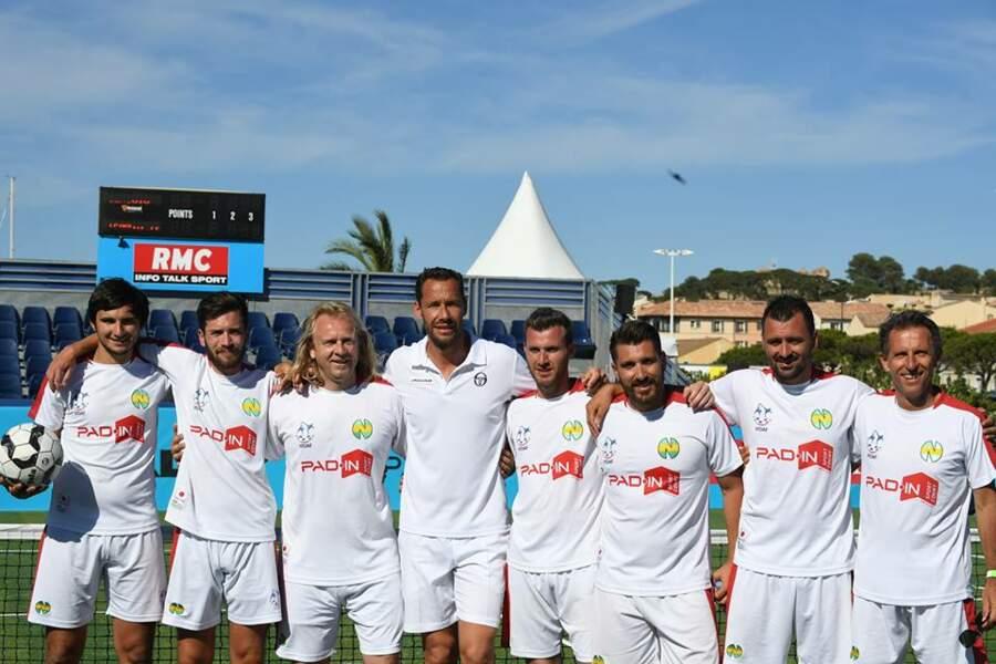 Michael Llodra et l'Equipe de France de Tennis Ballon,