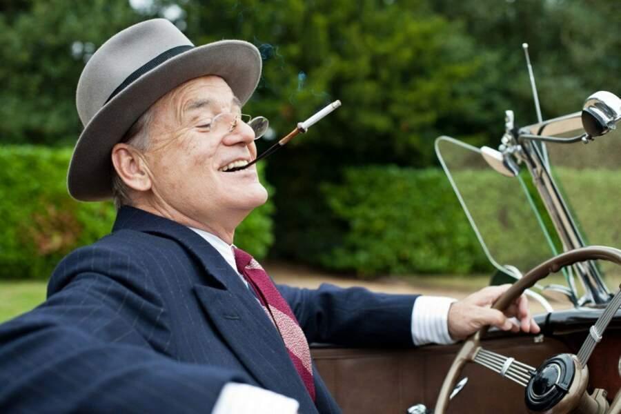 Bill Murray en Franklin D. Roosevelt dans Week-end roya, sorti en 2012
