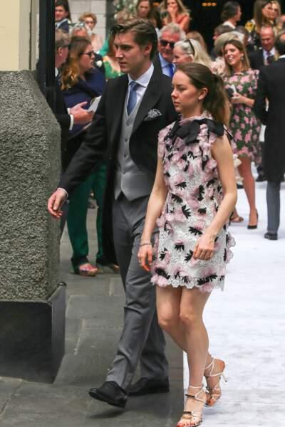 La princesse Alexandra de Hanovre et son compagnon Ben-Silvester Strautmann au Pérou le 16 mars 2018
