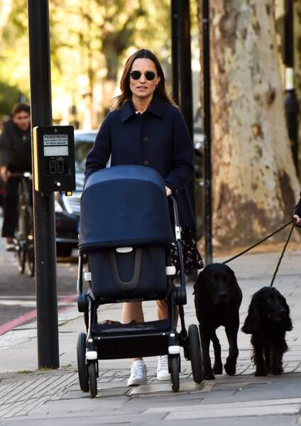 Pippa Middleton a donné naissance à son 1er enfant, Arthur, né le 15 octobre 2018