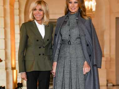 PHOTOS - Melania Trump somptueuse en robe Dior à Versailles