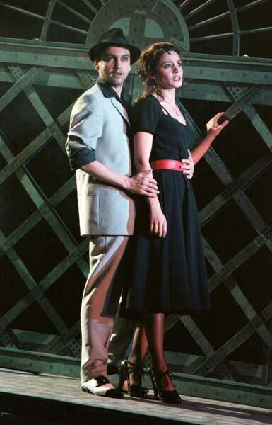 Arnaud Giovaninetti durant la pièce Irma la douce au Théâtre de Chaillot à Paris en 2000