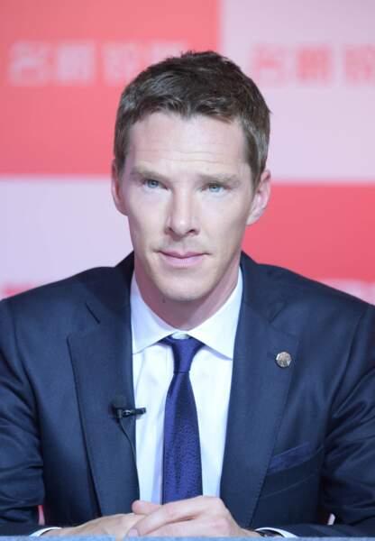 Sous ses airs sérieux, Benedict Cumberbacht cachait bien ses talent d'imitateurs