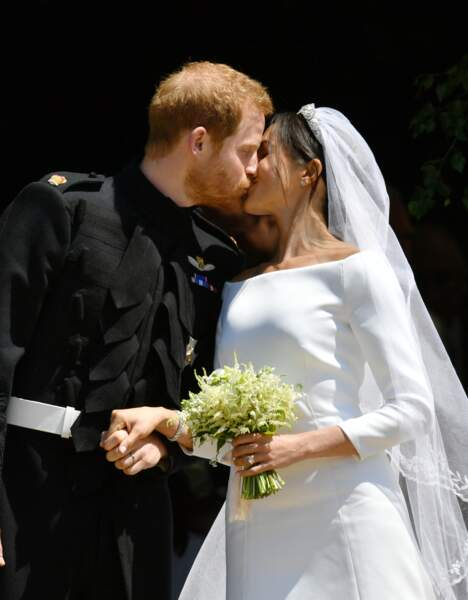 Le prince Harry et Meghan Markle : le baiser princier