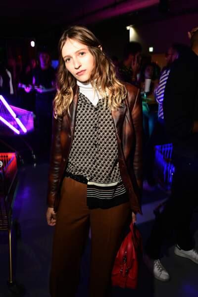 Christa Theret lors de la soirée de lancement de lla collection Moschino x H&M