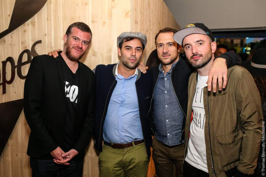 CatCat, Guillaume Jaulen et Pierre Forestier des C2C