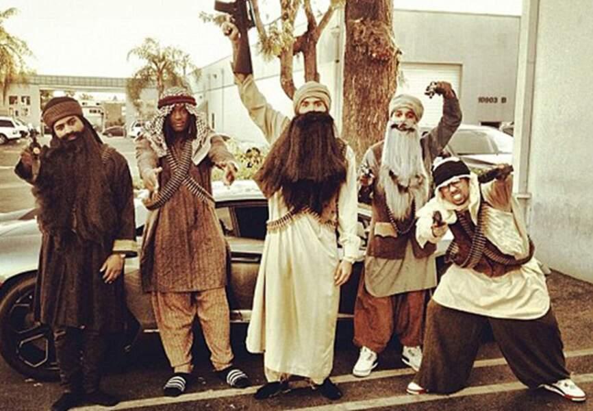 Chris Brown et ses copains