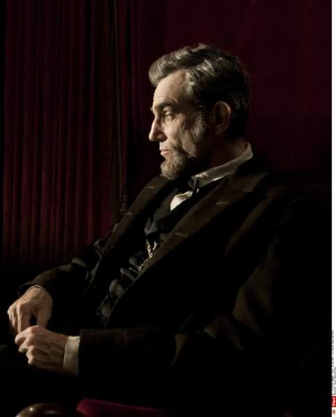 Daniel Day-Lewis interprète Abraham Lincoln dans le Lincoln de Steven Spielberg, sorti en 2013