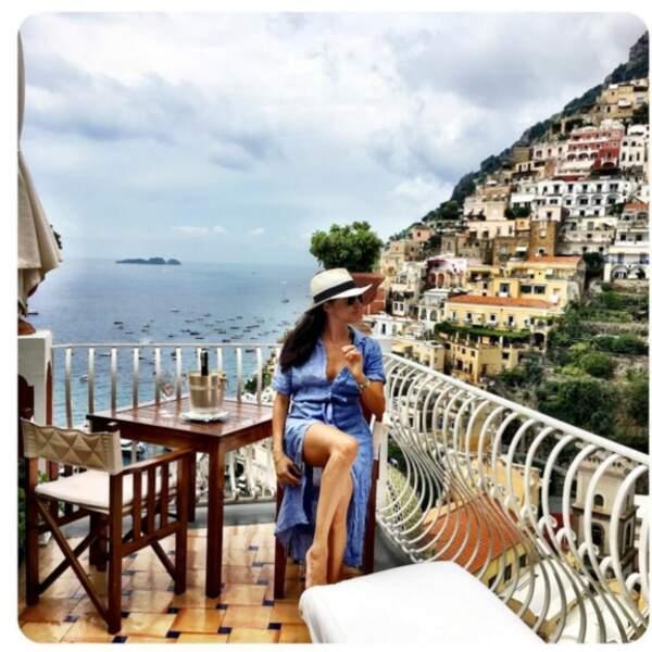 Meghan Markle en vacances à Positano, été 2016
