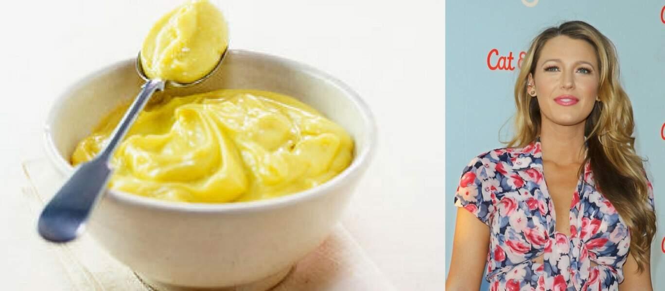Blake Lively la mayonnaise c'est son secret pour une belle chevelure