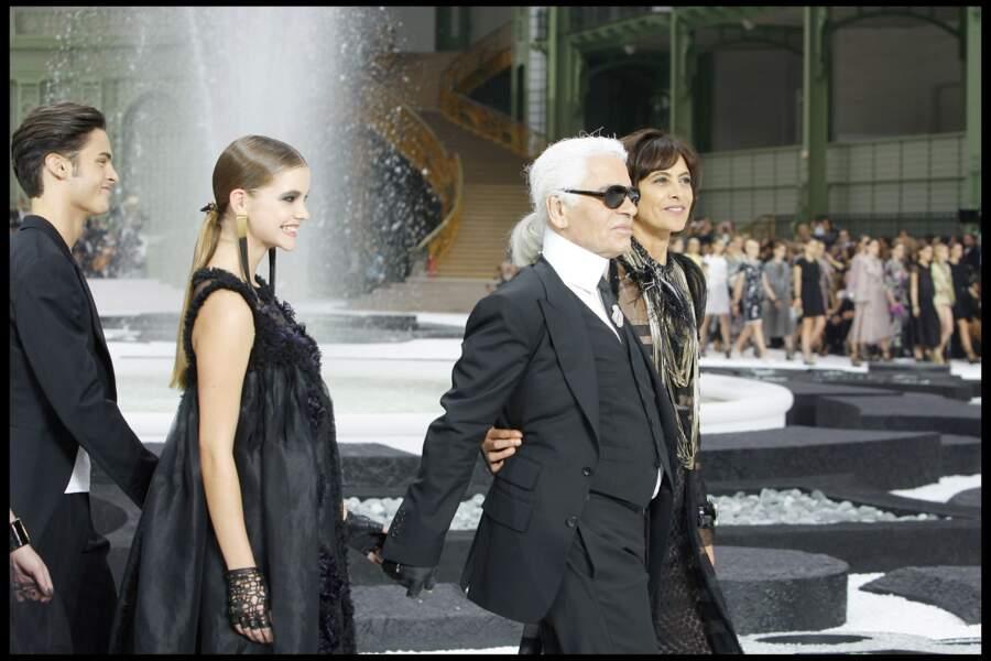Défile Chanel collection printemps-été 2011 à Paris