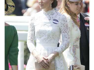 Kate Middleton, deux tenues très similaires aux éditions 2016 et 2017 du Royal Ascot
