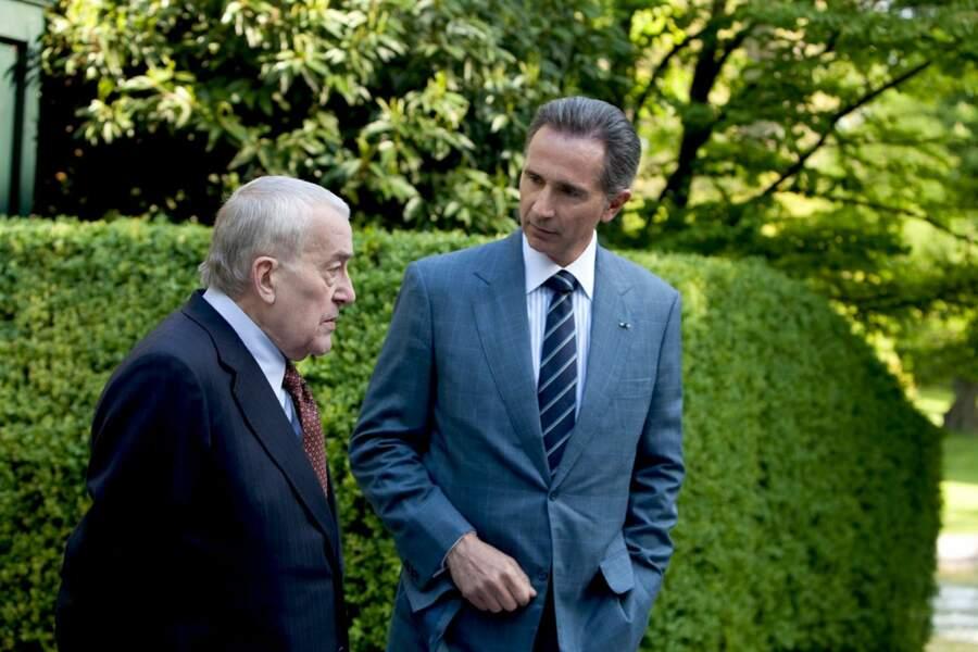 François Mitterrand est interprété par Michel Duchaussoy dans L'Affaire Gordji : histoire d'une cohabition, en 2011